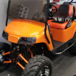 Custom Golf Carts - Orange_1