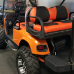 Custom Golf Carts - Orange_2